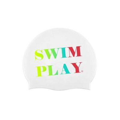 Swim Play Swimcap White