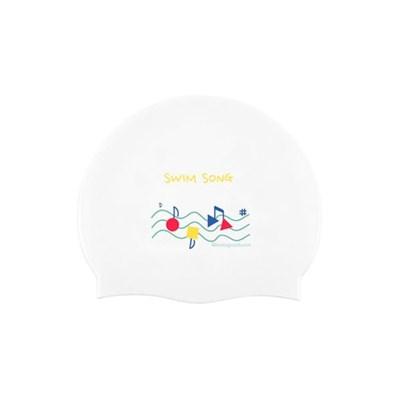 Swimsong Swimcap White