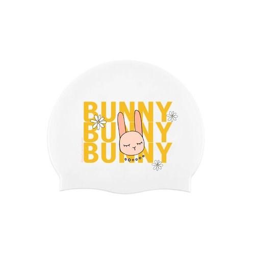 Bunny Swimcap White