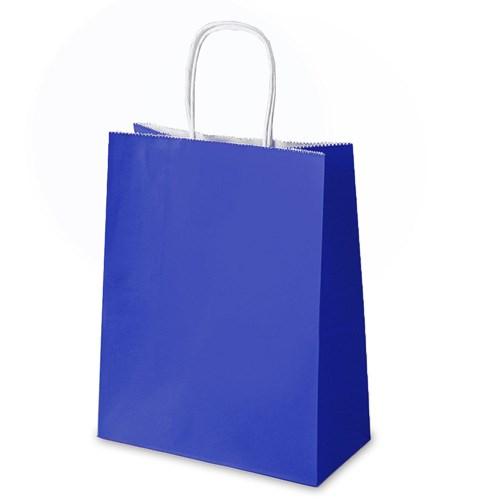 블루 쇼핑백 대