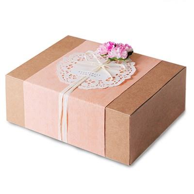 모던 크라프트 선물상자-4 (2개)