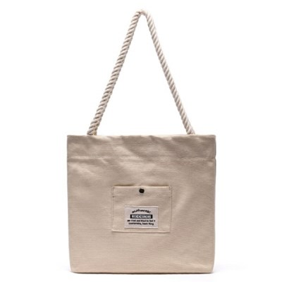 ROPE COTTON ECO BAG (BEIGE)_(1277241)