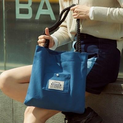 ROPE COTTON ECO BAG (BLUE)_(1277238)