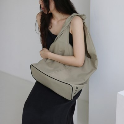 bass bag _khaki beige