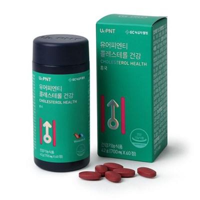 녹십자웰빙 유어피엔티 콜레스테롤 건강 홍국 모나콜린K 60정 2병