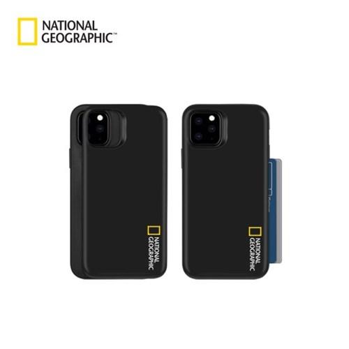 내셔널지오그래픽 브랜드 스몰로고 오토슬라이드 케이스 아이폰