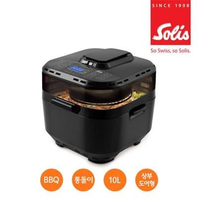 솔리스 10L 멀티쿠킹 대용량 에어프라이어 전기오븐기기 SAF1301