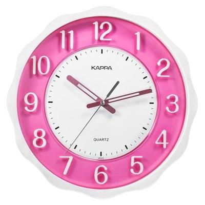 카파 IP223 무소음 3D숫자판 컬러서클벽시계 핑크_(1545683)