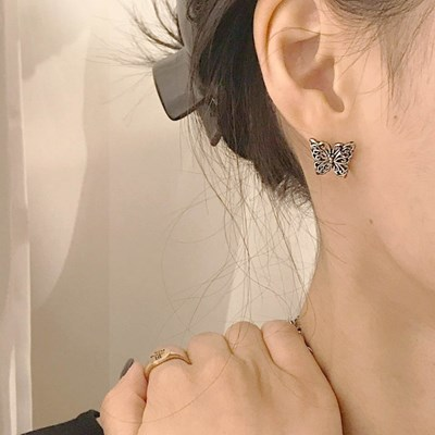 [레트로 귀걸이] 나비 이어링
