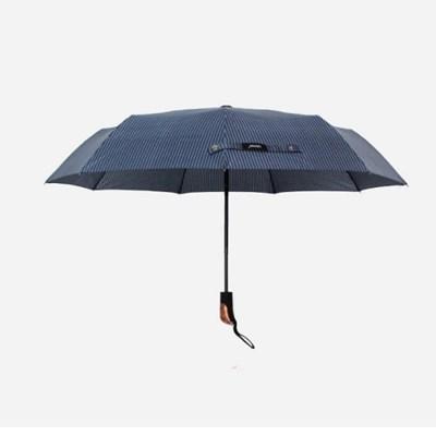 PARACHASE 파라체이스 3089 스트라이프 패턴 자동 3단 우산