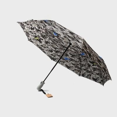 PARACHASE 파라체이스 3204 카모플라쥬 패턴 자동 3단 우산
