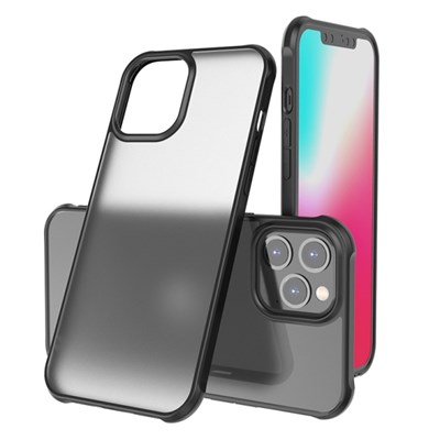 무광 반투명 범퍼 아이폰 12 프로 맥스 미니 케이스