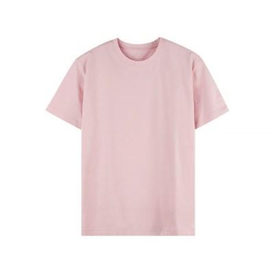 베이직 무지 반팔티셔츠 핑크 MTR001