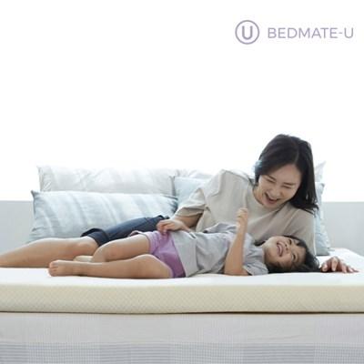 베드메이트유 메모리폼 토퍼 바닥 매트리스 투레이어 8.0