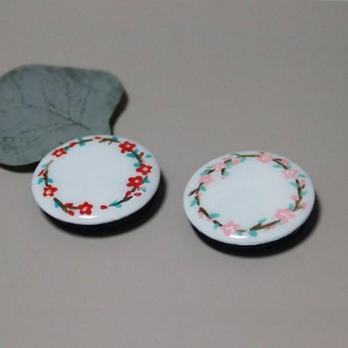 그려낸 매화 벚꽃 그립톡 스마트톡