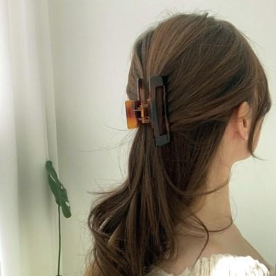 올림머리 호마이카 집게핀 프랑스 머리핀 2color