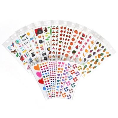 [텐바이텐 단독구성] 스티커마켓 21 종 스티커팩 ver.4