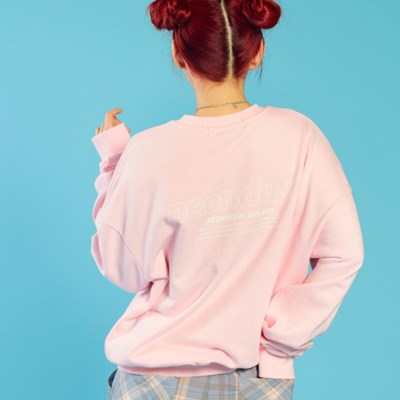 NEONDUST 20SP Sweat Shirt PINK