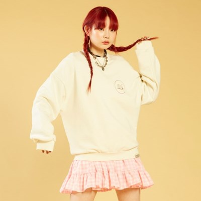 NEONDUST 20SP Sweat Shirt IVORY