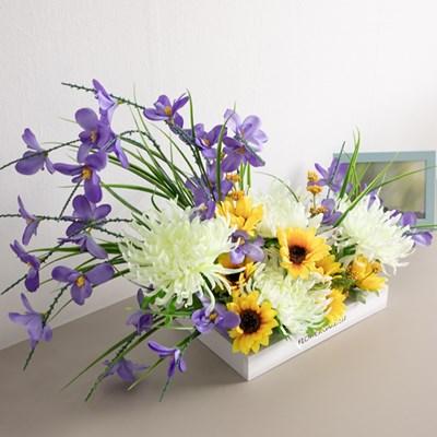 설국화수반set 70cmAP 조화 꽃 화분 인테리어 FMFUFT