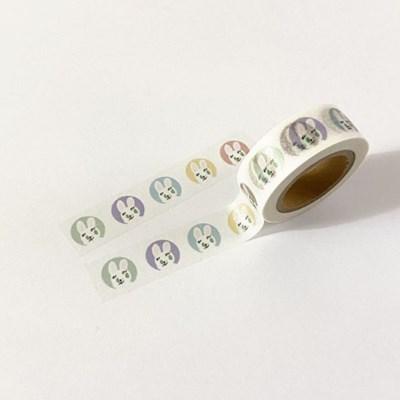 happy (circle) masking tape