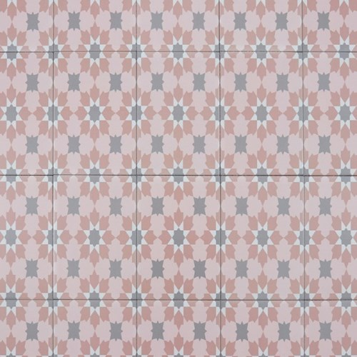 데칼코마니 핑크 [200*200] 포쉐린