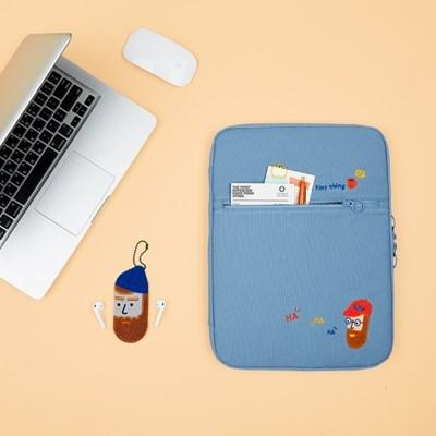 노트북 파우치 포켓 오거나이저_부클 비어드맨 (아이패드, 13)