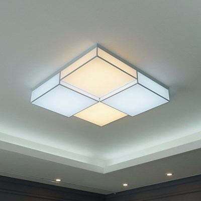 바리솔 4등 색변환 국산 LED 거실등 100W