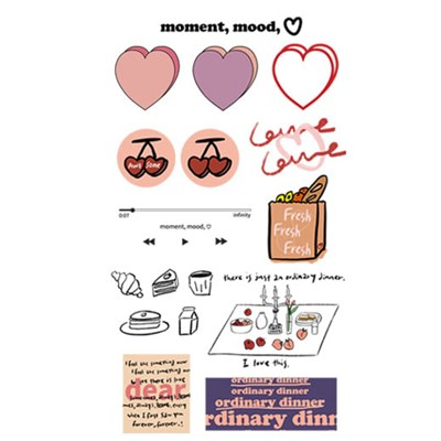 STICKER PACK .ver ordinary dinner