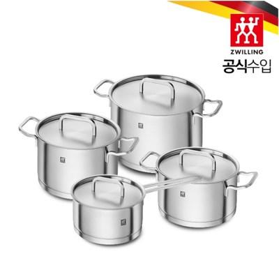 [헹켈] 즈윌링 모먼트 4종 냄비 세트 (HK66240-004)