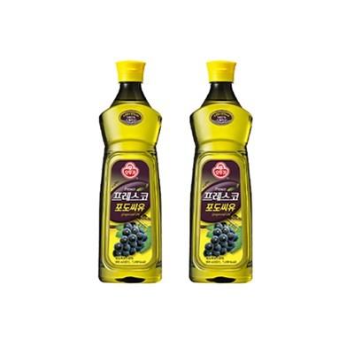 [오뚜기] 프레스코 포도씨유 900ml