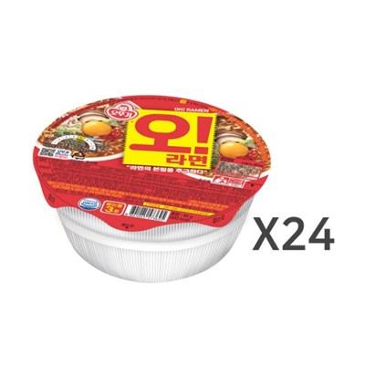 [오뚜기] 오라면 컵 (90g) x 24