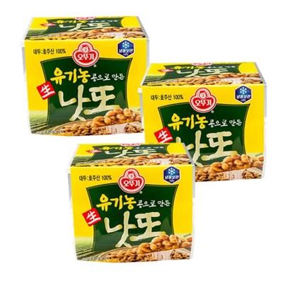 [오뚜기] 유기농콩으로 만든 생낫또 (50g x 3) x 3 (총9개입)