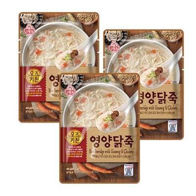 [오뚜기] 오즈키친 영양닭죽 (450g) x 3