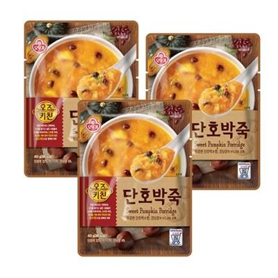 [오뚜기] 오즈키친 단호박죽 (450g) x 3