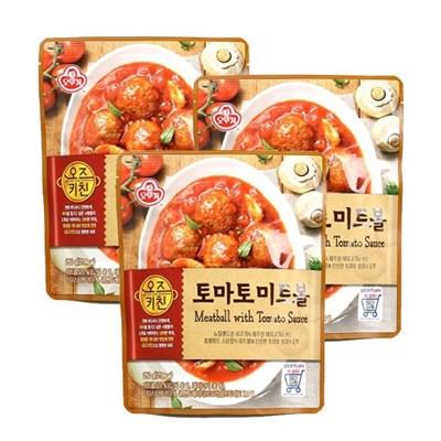 [오뚜기] 오즈키친 토마토 미트볼 (250g) x 3