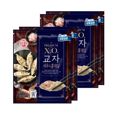 [오뚜기] X.O.교자 새우 홍게살 324g*2 x 2 (총4봉)