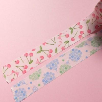 [Petit Joie] 마스킹테이프 :: 꽃과 과일 (7종)