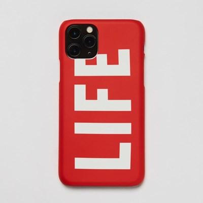 LIFE LOGO HARD PHONE CASE_RED_(1539124)