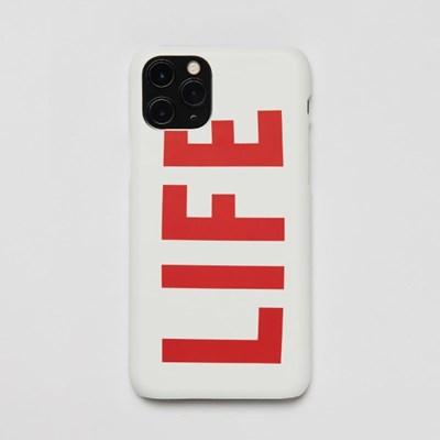 LIFE LOGO HARD PHONE CASE_WHITE_(1539123)