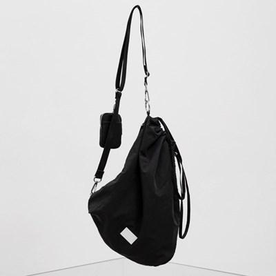 FENNEC FABRIC SLING BAG - BLACK