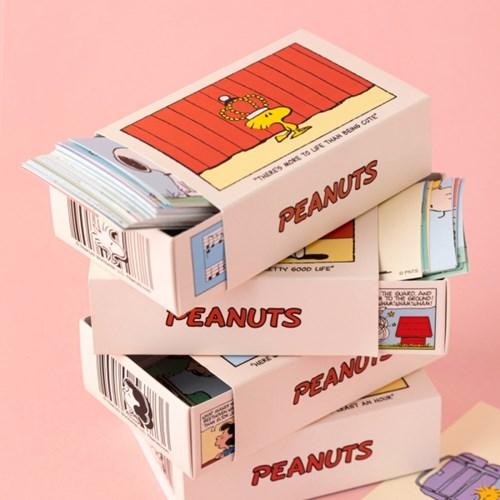 [Peanuts] 코믹스 스티커 세트 4종SET
