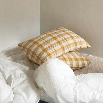 Aurora Yellow Pillow Cover