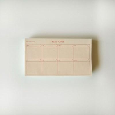 new weekly planner(pink) 위클리플래너