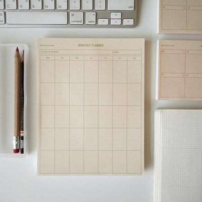 new monthly planner(green) 먼슬리플래너
