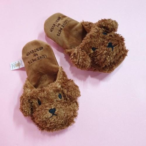 [PetToy]Love Pet Squeaky Toy poodle slipper바스락삑삑