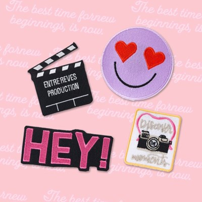 HEY SMILE! PATCH SET