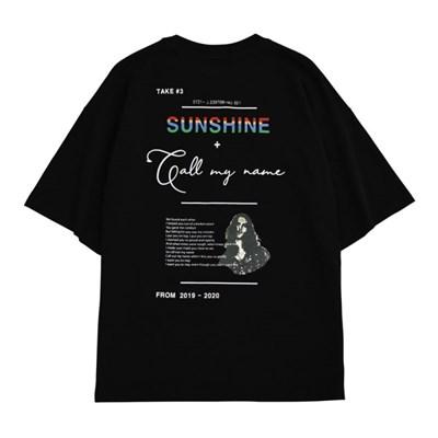 집시 선샤인 티셔츠 BLACK