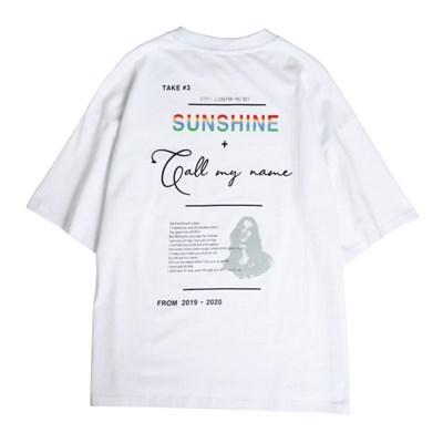 집시 선샤인 티셔츠 WHITE