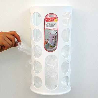 비닐정리함 비닐봉투정리 비닐보관